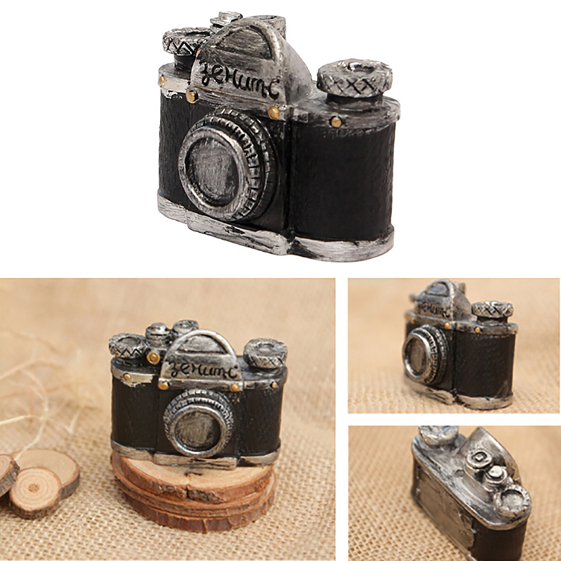 Maison de poupées miniature 1 12th scale caméra et film