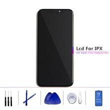 TFT ve OLED Lcd Apple IPhone X için Lcd ekran dokunmatik ekran digitizer yedek tertibat yedek parçalar siyah
