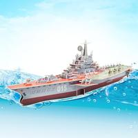 3D puzzle paper building model DIY toy hand work assemble game gift Russia Minsk ship boat Kiev style aircraft birthday gift 1pc