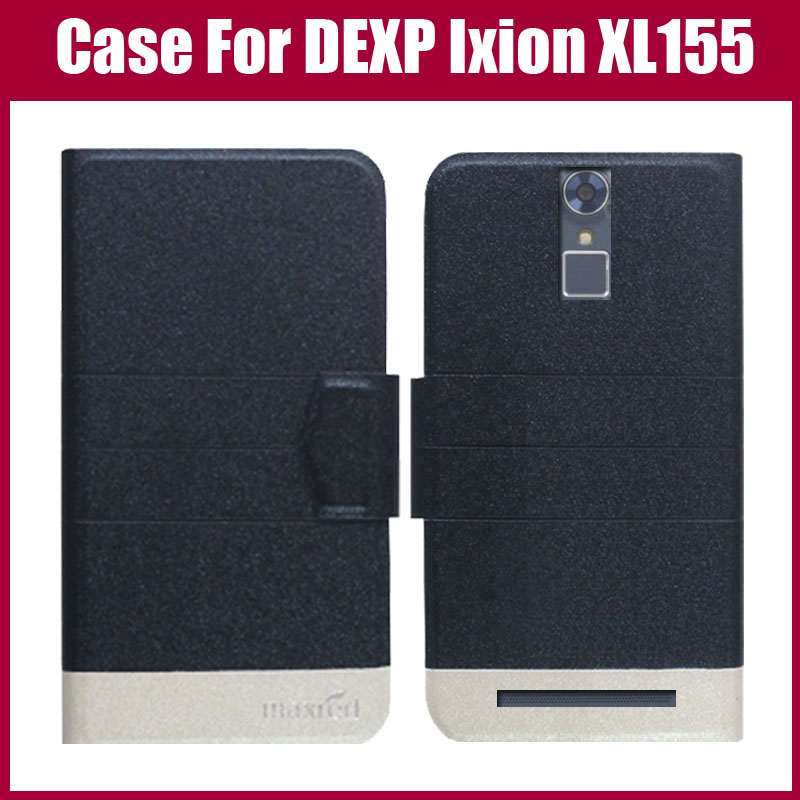 Hot Sale! DEXP Ixion XL155 Case New Arrival 5 Colors Fashion Flip Ultra-thin Leather Phone Protective Cover