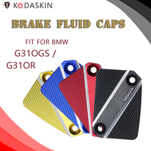KODASKIN Motorcycle CNC Brake Fluid Reservoir Cap Cover for BMW G310GS G310R
