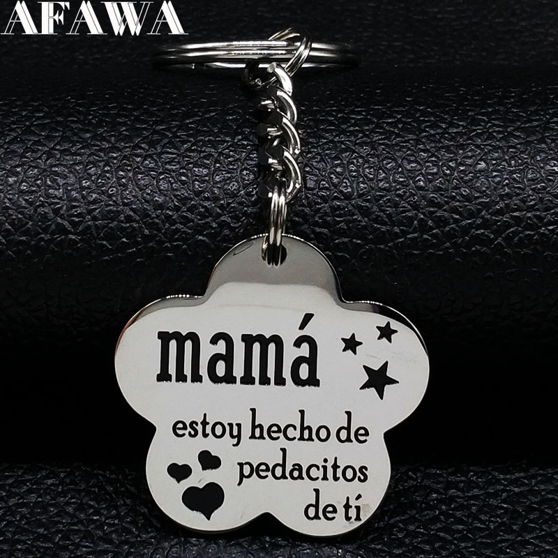 I Used To Be Her Fairys Now She/'s Min In Memory Of My Mum Key Chain Keyring YI