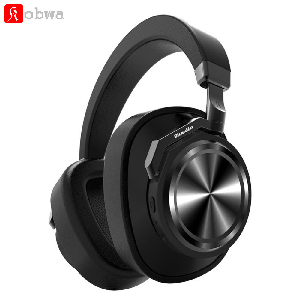 Bluedio T6 Active Noise Cancelling Casque Sans Fil Bluetooth Casque musique Sport écouteurs avec microphone pour Téléphone PC
