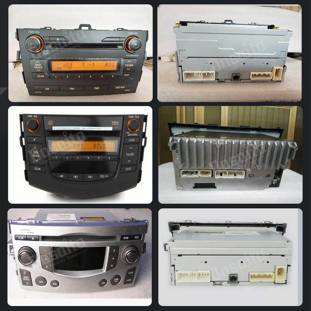 Dasaita DYX004 רכב DVD אודיו חוט לרתום מתאם עבור טויוטה קורולה קאמרי פראדו RAV4 Hilux מפעל רדיו כבל SWC