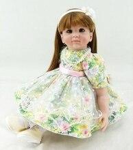 Muñeca reborn de 55 cm con vestido elegante – Colección limitada