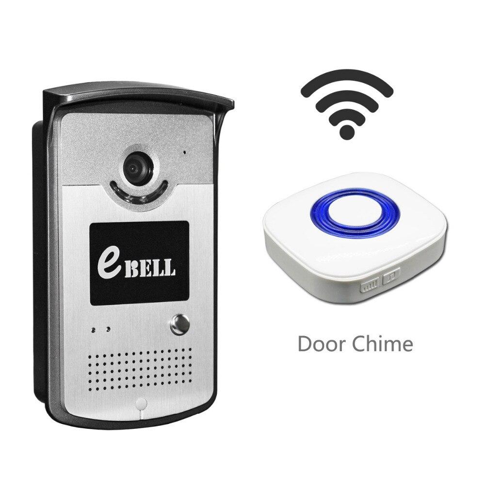 New Night Vision Smart WiFi Doorbell Motion Detection Alarm IP Door Camera Smartphone App Control Unlock Door Intercom