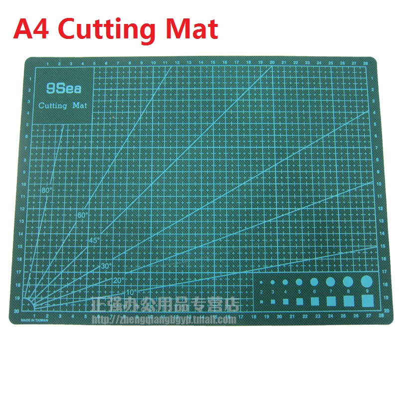 A4 Double Sided Cutting Plate High Quality White Core Sculpture model board  22cm*30cm Esteira de corte us art supply® brand premium high quality 5x7 white picture mat matte sets includes a pack of 25 white core bevel cut mattes for 4x6 photos pack of 25 white core backers