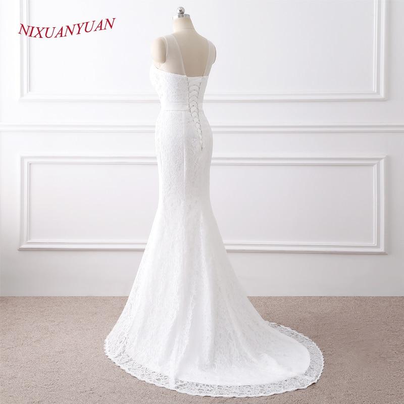NIXUANYUAN 2018 Νέες Κομψές Εφαρμογές O - Γαμήλια φορέματα - Φωτογραφία 3