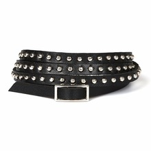 2015 Fashion Multi-layer Rivet Winding Wrapped Leather Bracelets for Woman XY-B109 – B114