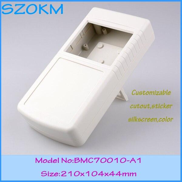 4 pcs/lot plastic electrical enclosure top quality enclosures for electronics handheld box plastic enclosures for electronics