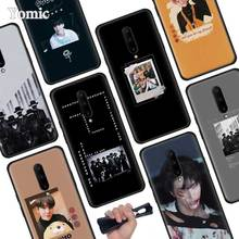 ATEEZ HongJoong SeongHWA Black Soft Case for Oneplus 7 Pro 7 6T 6 Silicone TPU Phone Cases Cover Coque Shell
