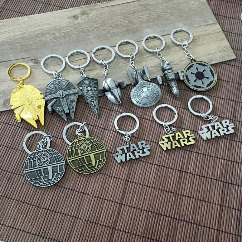 single-sale-star-war-millennium-falcon-keychain-cool-spaceship-pendant-metal-keyring-font-b-starwar-b-font-collection-gift-toys-for-children