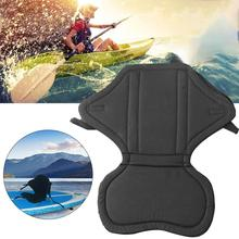 Universal 1pcs Luxury Kayak Seat Boat Soft Antiskid Base High Backrest Adjustable Strap Cushion With