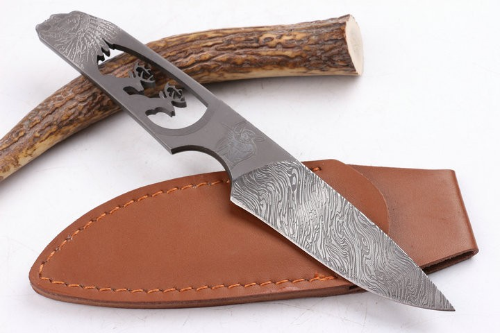 Buy Camping Rescue Fixed Knives,7Cr17Mov Blade All Steel Handle Survival Knife,Small Hunting Knife. cheap