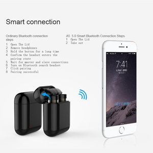 Image 3 - DOOLNNG T 1 Chống Nước Thể Thao Bluetooth Tai Nghe 5.0 TWS Không Dây Mini Vô Hình Cảm Ứng Điều Khiển Tai Nghe Cho