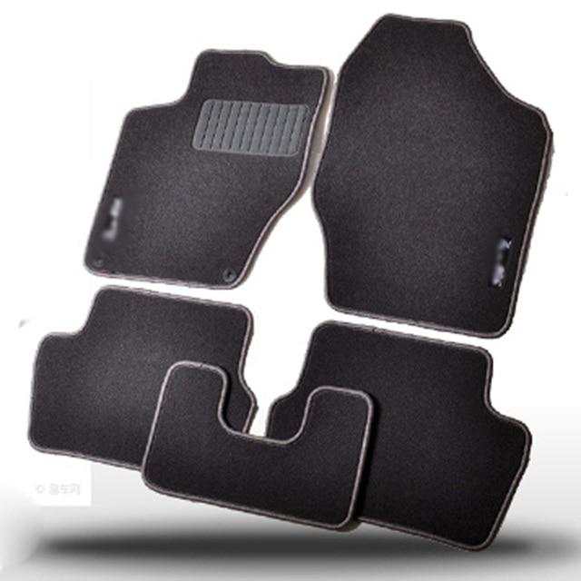 Savanini Premium Fabric Nylon Washable Car Floor Mats Carpet For ...
