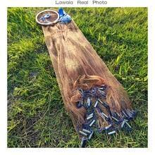 Lawaia 2.4-4.2 m Wędkowanie Netto 3 m Wędkowanie Netto, najtańszy Chiny Składane Fly Fishing Net Fly Pojedyncze Gill Netto