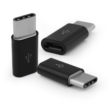 10 Pcs USB 3.1 USB-C Type C Male to Micro USB Female Adapter Converter @JH
