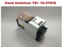 Б/у BTC Майнер AntMiner T9 + 10,5 T Bitcoin BCH Майнер лучше чем AntMiner S9 S9i S9j 13,5 T 14 T 14,5 T WhatsMiner M3, Майнер
