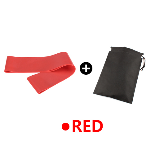 Red with Bag