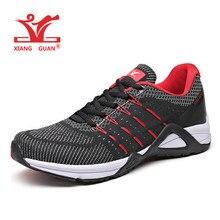 24280904 XIANG GUAN hombre zapatos para correr para hombres 2019 Niza entrenadores  deportivos negro blanco Zapatos de
