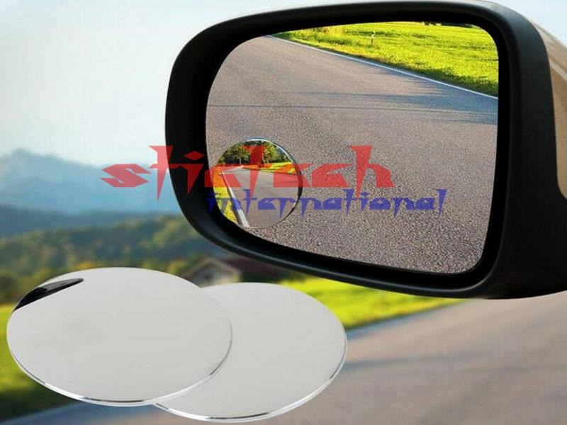 by dhl or ems 1000pcs Car Rearview Mirrors Blind Spot Rear View Mirror, Rearview Wide Angle Round Convex mirror hot sale