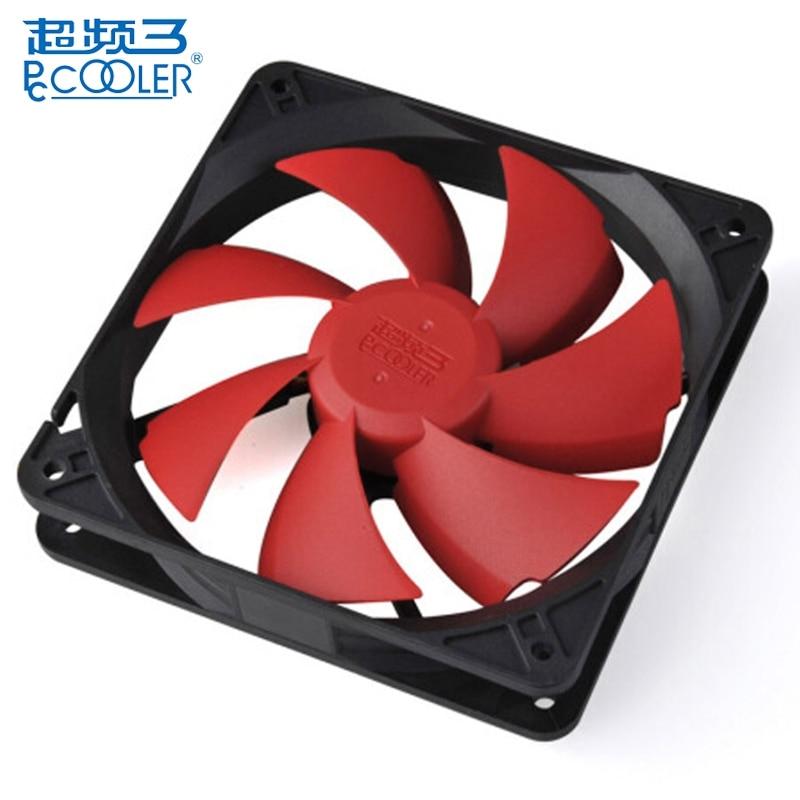 PCCOOLER F85 80mm Ultra Quiet PC Cooling Fan Computer Case Cooler Hydraumatic 3Pin CPU Cooler Cooling