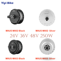 MXUS 24V 36V 48V 250W bicicleta electrica DC Brushless Motor For Electric Vehicle Conversion Kit 16 28 inch Wheel Electric Bike