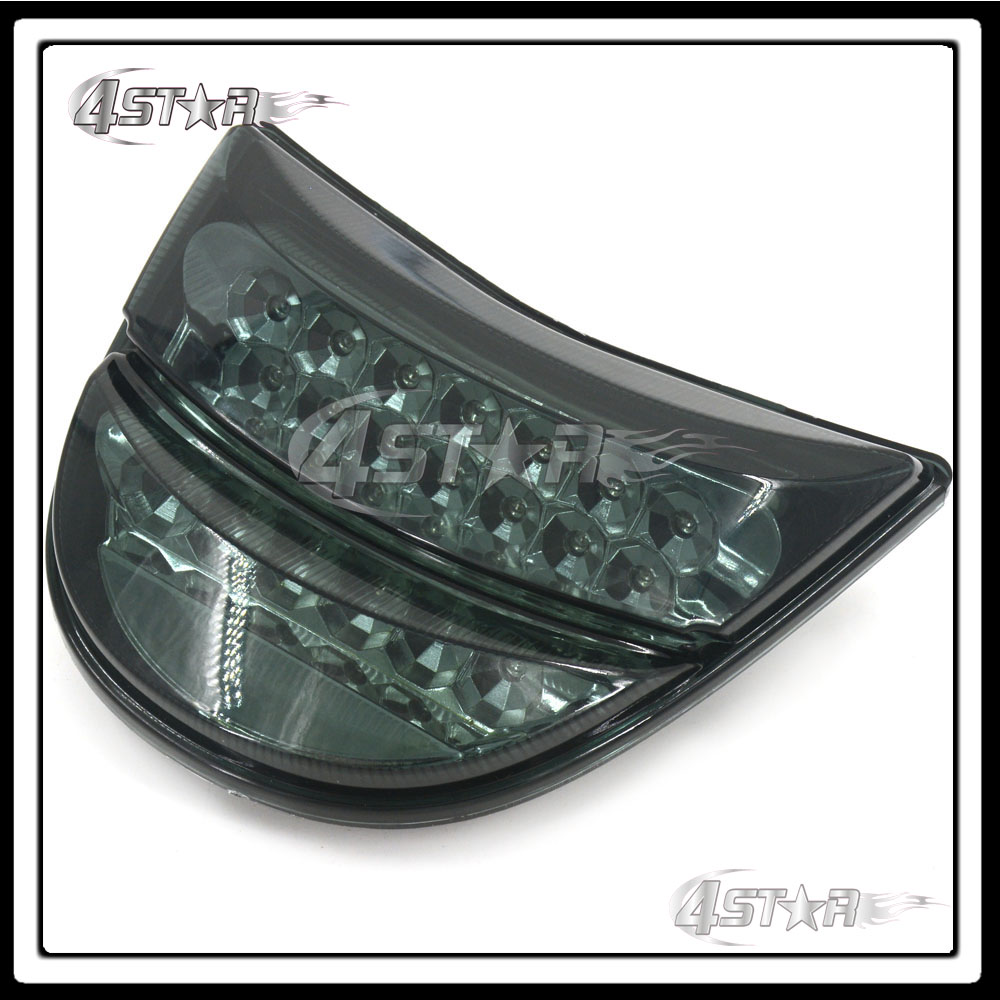 Motorbike Somke LED Rear Turn Signal Tail Stop Light Lamp Integrated Brake Light For CBR954RR CBR 954 RR 2002 2003 02 03