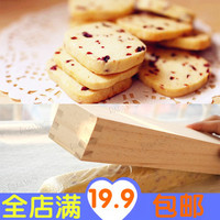 Free Shpping Wooden Cookie Cutters Pine Biscuit Mould Shaper Wood Frame Square Shape