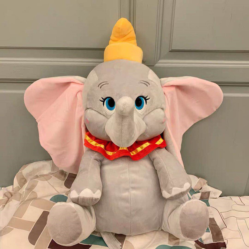 2019 NEW Cartoon Movie 28CM Dumbo Elephant Animal Plush Toys Stuffed Doll For Gift Collection Home Decoration Toys For Children