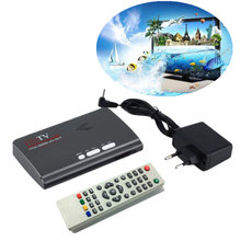 DVB-T/DVB-T2 TV Tuner Receiver HDMI 1080P Digital Terrestrial DVB T/T2 Box VGA AV CVBS HD Satellite with Remote