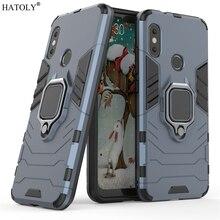 dd47185cd76 Xiaomi Mi A2 Lite Case Cover for Xiaomi Mi A2 Lite Magnetic Finger Ring Case  Protective
