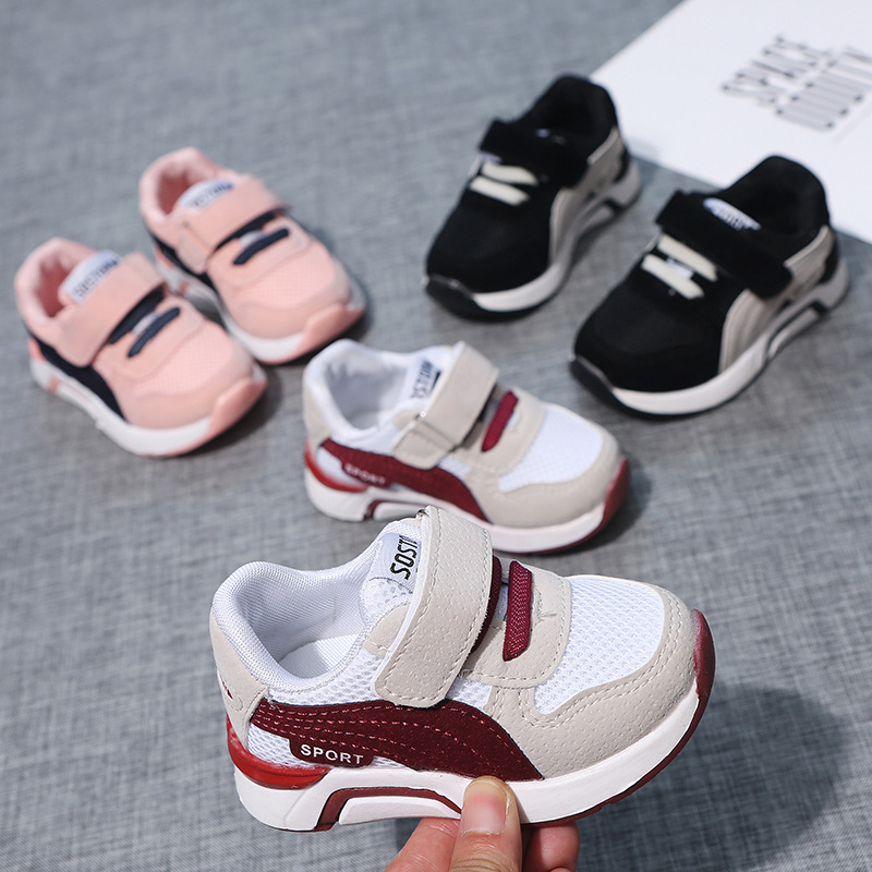 Kids Sneakers For Boys Girls Sports Shoes New Spring Autumn Fashion Soft Bottom Baby Sneakers Chaussures Enfant Children Shoes