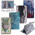 New animal Cartoon tiger owl PU Leather Stand For Apple iPad pro 9.7 Case with card slot Protector back cover For ipad pro mini