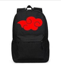 Anime Naruto Cosplay Estudiante mochila hombres y mujeres de ocio de dibujos animados de viaje bolsa de hombro