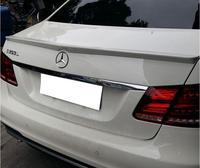 JIOYNG PAINT ABS CAR REAR WING TRUNK LIP SPOILER FOR 08 15 BENZ W212 AMG E class E320 E260 E300 E63 2008 2015 FAST BY EMS
