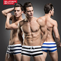 New Fashion Comfortable Men's Boxers Low Waist Panties Breathable Comfortable Boxers Boyshort Calzoncillos Homewear