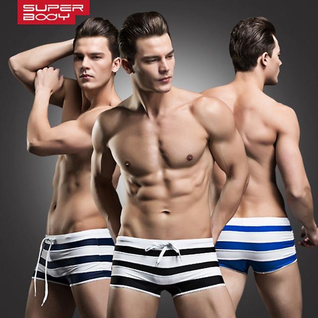 New Fashion Comfortable Men's Boxers Low Waist Panties Breathable Comfortable Boxers Boyshort Calzoncillos Homewear