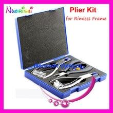 Профессиональные очки Силуэт плоскогубцы Набор для оправы рамка инструмент для очков Набор B01A