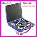 Profesional gafas Silhouette alicates Set para marco sin rebordes de herramienta del Kit B01A envío gratis