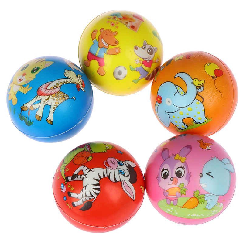 1Pc  Vent Ball Animals Squeeze Foam Ball Hand Relief Interactive Rubber Balls For Stress Relief Kids Toys