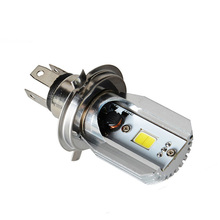 2016 New H4 LED Hi/Lo Beam in Car Light Source 8W 1050LM 12V 6000K Motorcycle Headlight Bulbs Moped Scooter Motorbike Headlamp