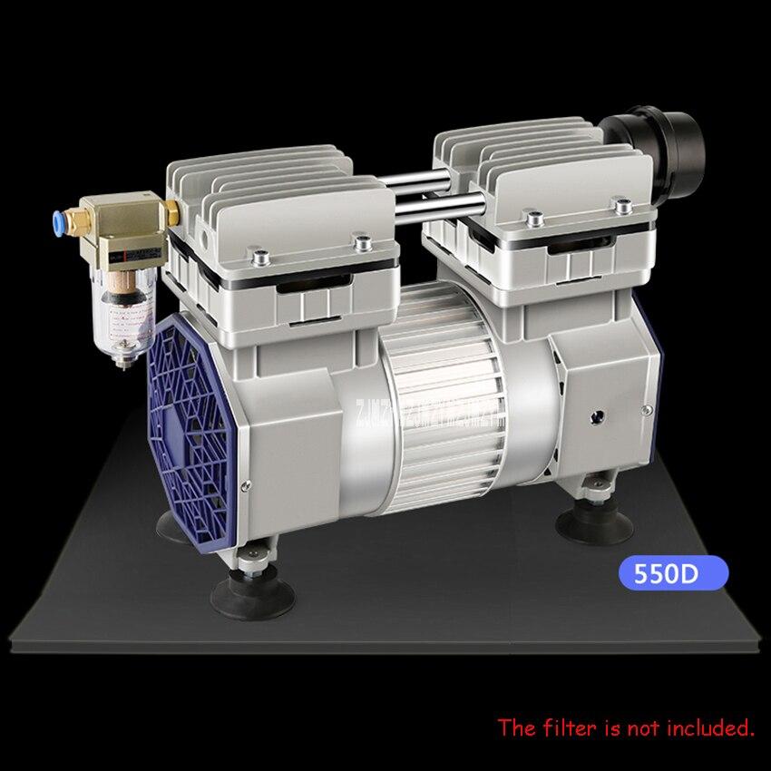 550D pompe à vide sans huile pompe à vide industrielle muet pompe à vide haute débit pompe à pression négative pompe d'aspiration 320 W 220 V