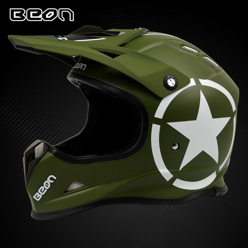BEON Motocross helmet off road scooter electric motorbike helmets safety cap casco motorcycle capacete MX16 beon vintage off road motocross feminino motorcycle half helmet head headgear casque capacete casco riding for harley helmets
