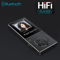 New MP3 Player With Bluetooth 2.4 TFT Color Screen HIFI Lossless Sound Built in Speaker MP3 Player Support TF Card Up To 128G
