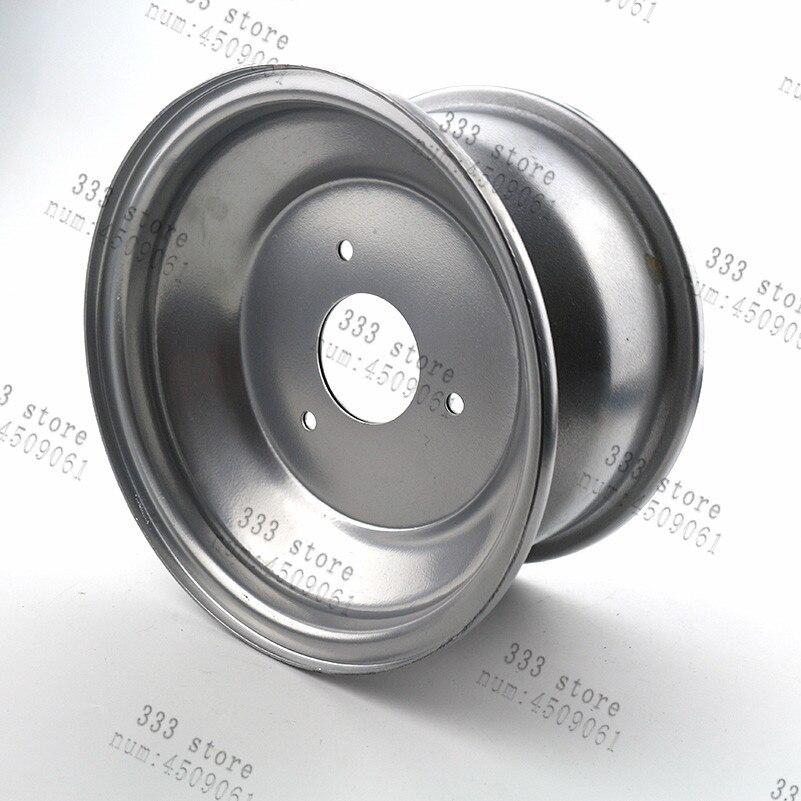 8 polegada roda traseira acessorios rodas brancas 8 polegada 3 buraco motocicleta peca hub para fora