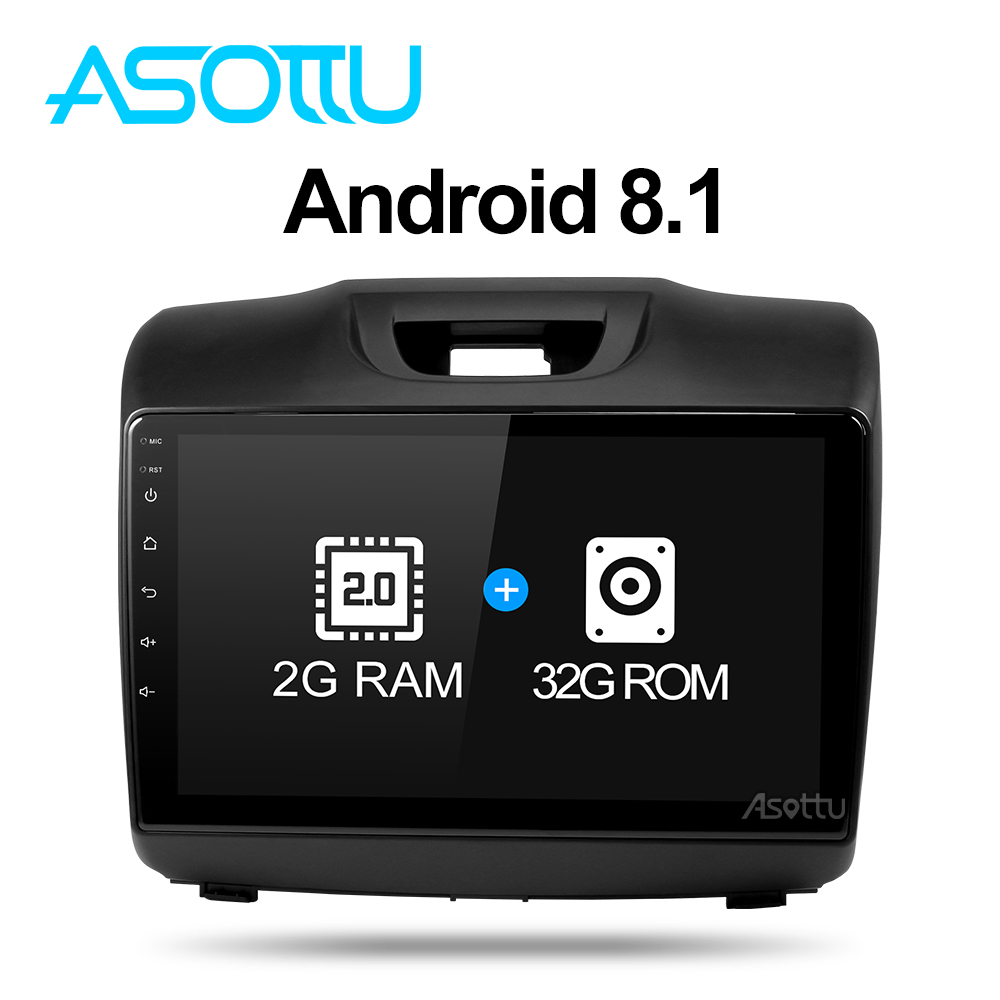Asottu android 8 1 car dvd gps player for Chevrolet S10 ISUZU D MAX 2015 2018