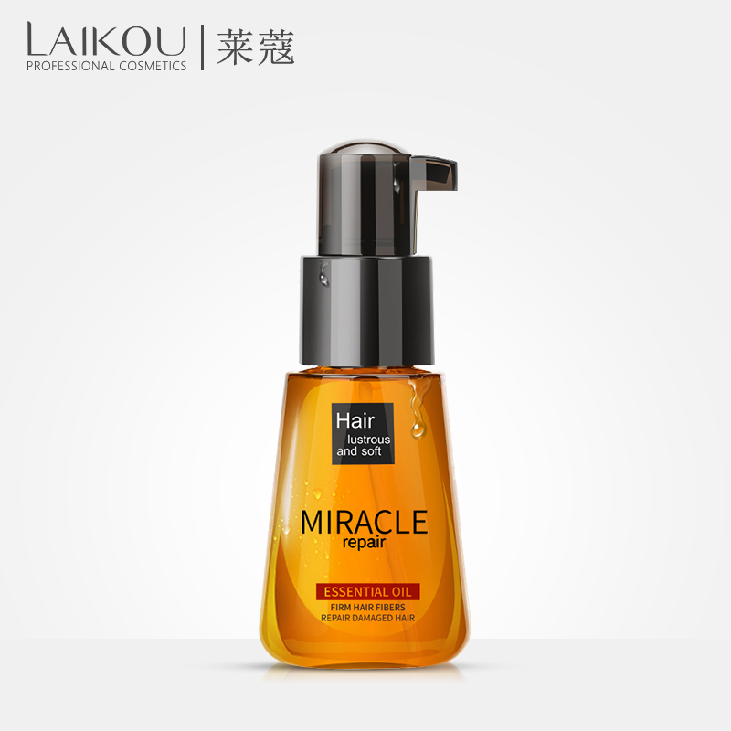 Brand LAIKOU newest Morocco Argan Oil Pure Multi-functional Hair Care Pure Essential For Dry Moroccan Scalp Korean Cosmetic 70ml morocco argan oil morocco argan oil mo046lwfcj14