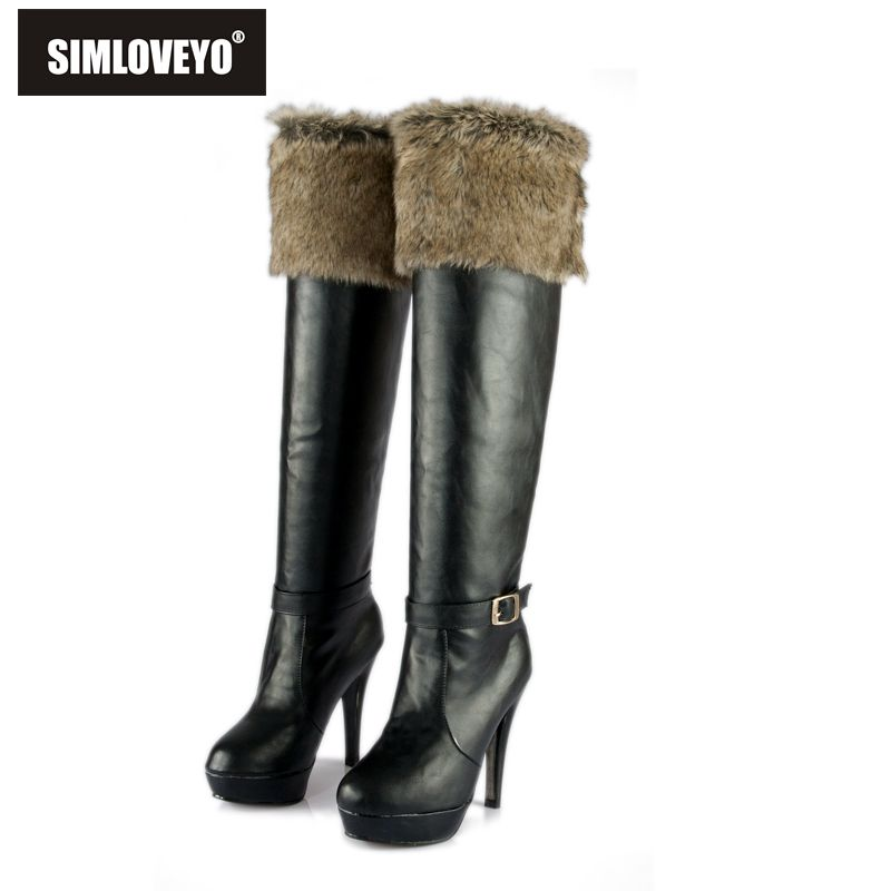Popular White Fur Snow Boots-Buy Cheap White Fur Snow Boots lots ...